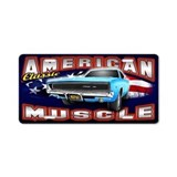 Muscle car License Plates