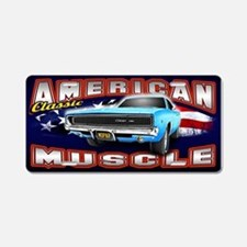 American Muscle - Charger Aluminum License Plate