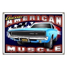 American Muscle - Charger Banner