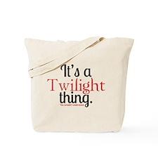 Twilight Thing 2 Tote Bag