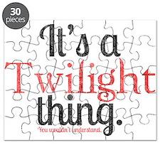 Twilight Thing 2 Puzzle