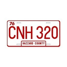 CNH 320 - Dukes Hazzard Aluminum License Plate