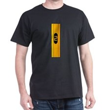 #2 Pencil Black T-Shirt