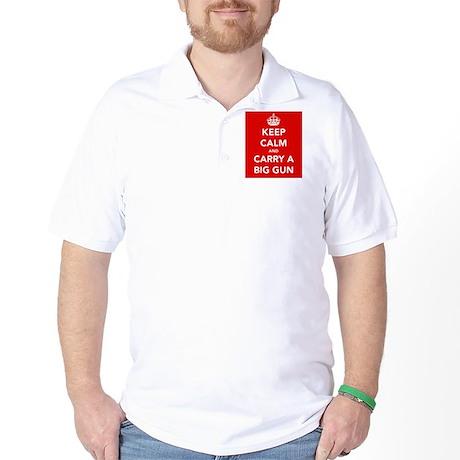 Carry a Big Gun.... Golf Shirt