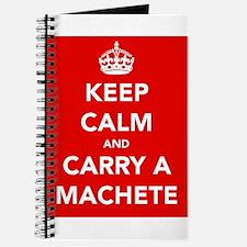 Carry a Machete.... Journal