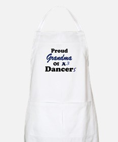 Grandma of 3 Dancers BBQ Apron