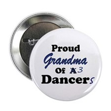 Grandma of 3 Dancers Button