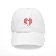 Lung Cancer Survivor Heart Baseball Cap