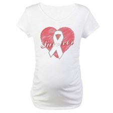 Lung Cancer Survivor Heart Shirt