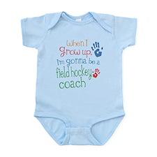 Kids Future Field Hockey Coach Infant Bodysuit