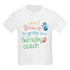 Kids Future Field Hockey Coach T-Shirt