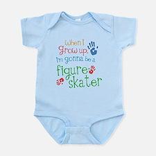 Kids Future Figure Skater Onesie