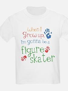 Kids Future Figure Skater T-Shirt