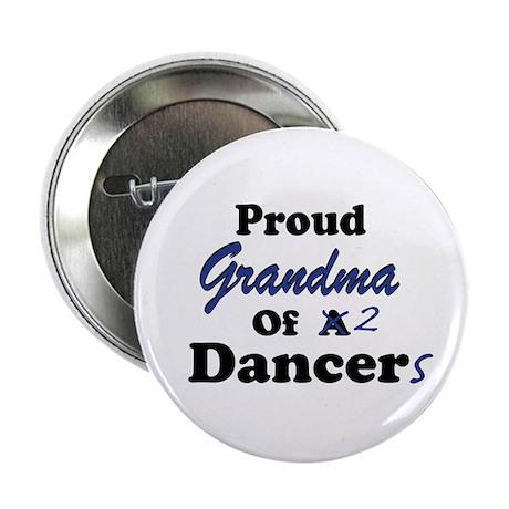 Grandma of 2 Dancers Button