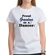 Grandma of 2 Dancers Tee
