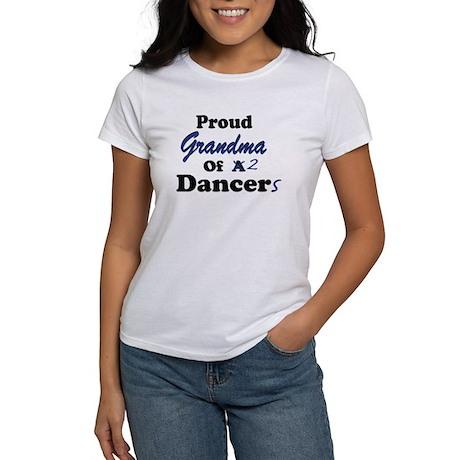 Grandma of 2 Dancers Women's T-Shirt