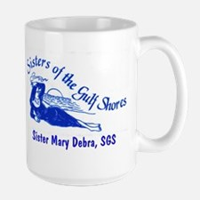 Sisters of the Gulf Shores Large Mug
