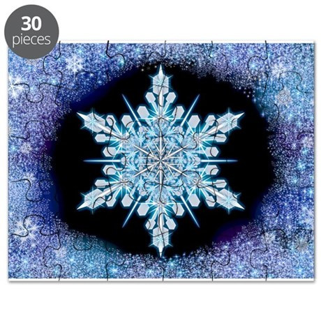 August Snowflake Puzzle