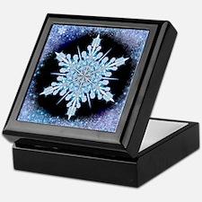 August Snowflake Keepsake Box