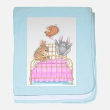 HappyHoppers® - Bunny - baby blanket
