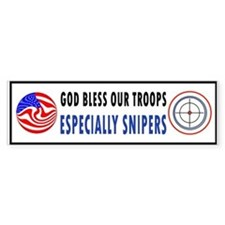 SNIPER Bumper Sticker