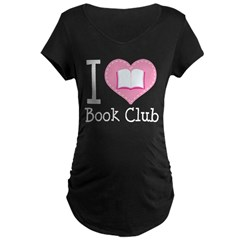 I Heart Book Club T-Shirt