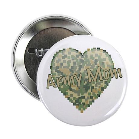 "Army Mom 2.25"" Button"