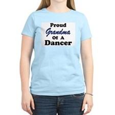 Grandma of a Dancer Women's Pink T-Shirt