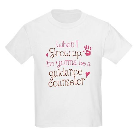 Kids Future Guidance Counselor Kids Light T-Shirt