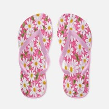 Daisy Floral Flip Flops