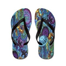 Sealife Flip Flops