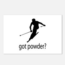 got powder? Postcards (Package of 8)