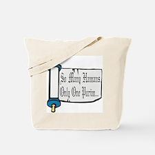 Cute Purim Tote Bag
