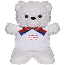 funny electrician Teddy Bear