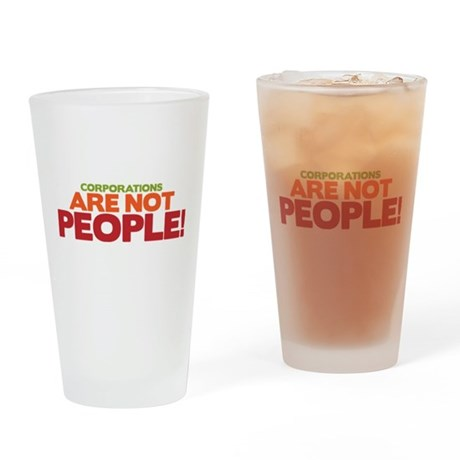 C.A.N.P. Drinking Glass