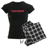 Maureen Women's Dark Pajamas