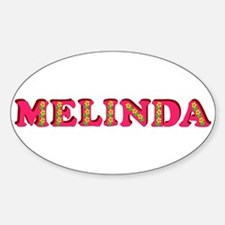 Melinda Sticker (Oval)