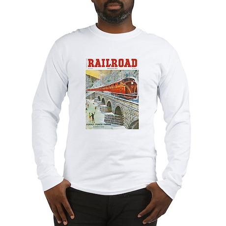 Railroad Magazine Cover 1 Long Sleeve T-Shirt