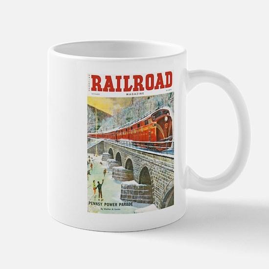 Railroad Magazine Cover 1 Mug