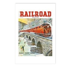 Railroad Magazine Cover 1 Postcards (Package of 8)