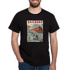 Railroad Magazine Cover 1 T-Shirt