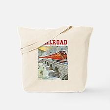 Railroad Magazine Cover 1 Tote Bag
