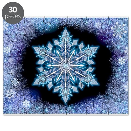 September Snowflake Puzzle