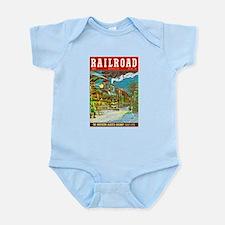 Railroad Magazine Cover 2 Infant Bodysuit