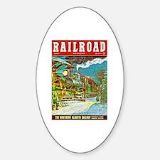 Railroad Magazine Cover 2 Decal
