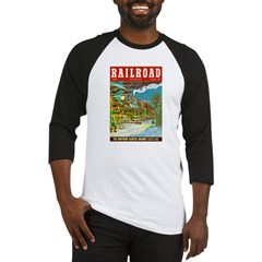Railroad Magazine Cover 2 Baseball Jersey