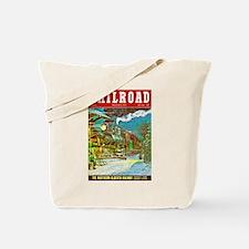 Railroad Magazine Cover 2 Tote Bag
