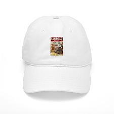 Railroad Magazine Cover 3 Baseball Cap