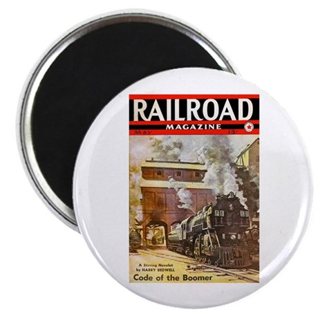 """Railroad Magazine Cover 3 2.25"""" Magnet (10 pack)"""