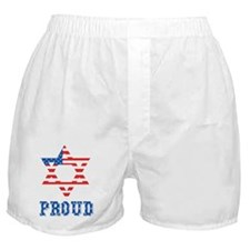 Jewish and American Proud Boxer Shorts